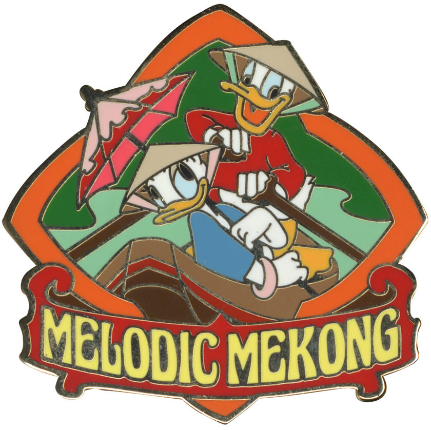 Melodic Mekong Pin