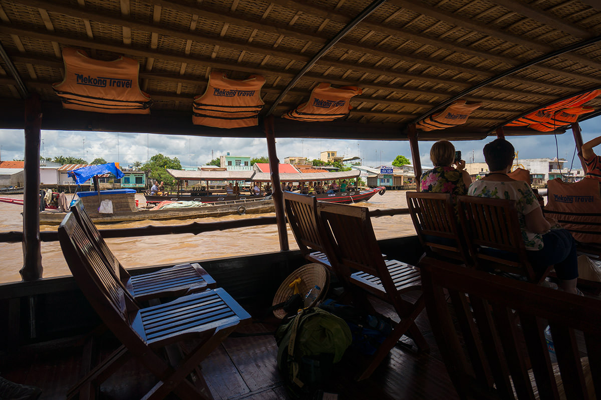 Mekong Cruise on the Boat