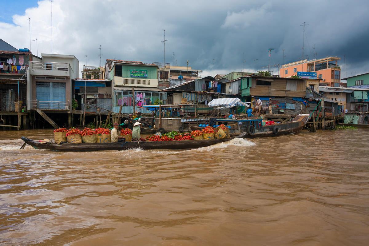 Mekong Fruit Seller