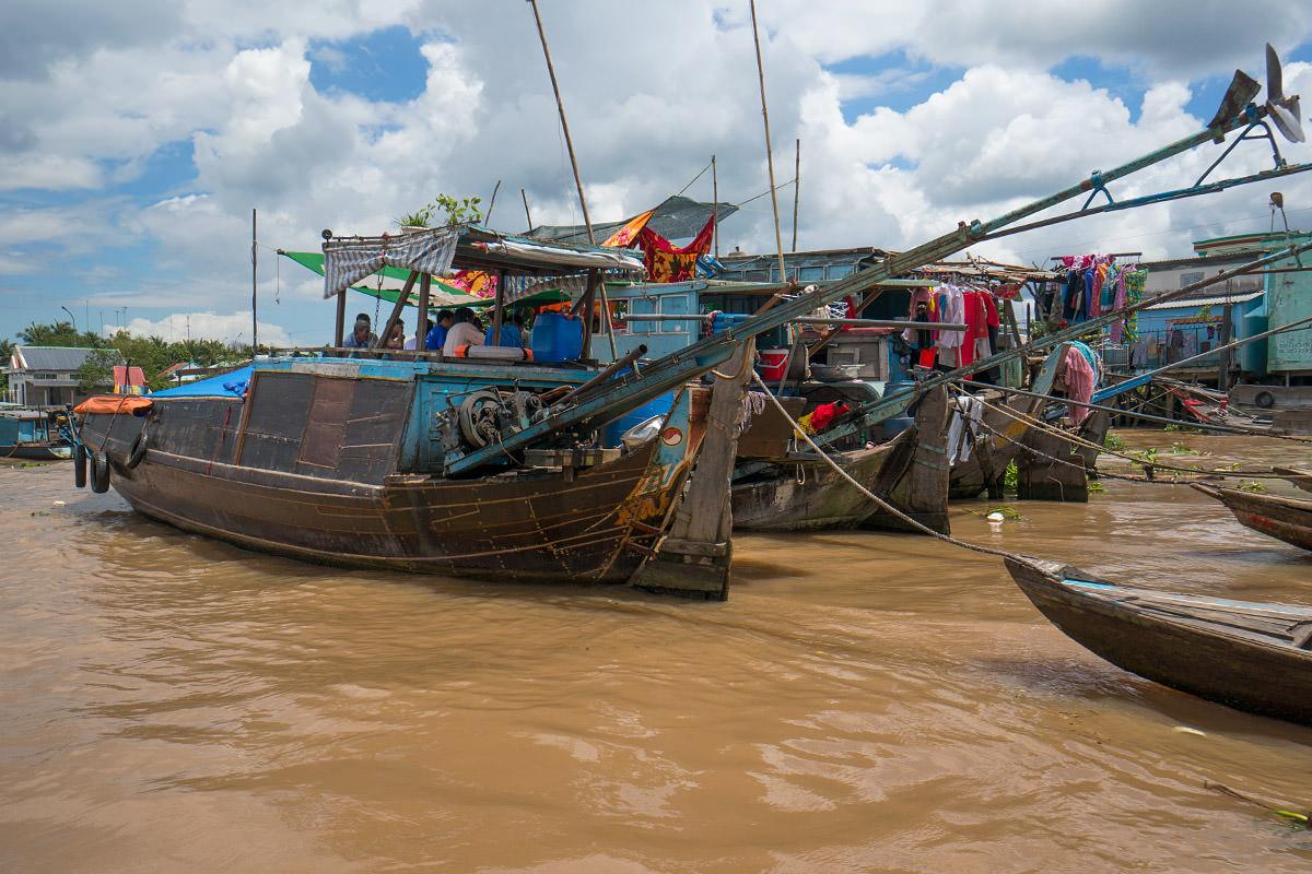 Mekong Houseboats