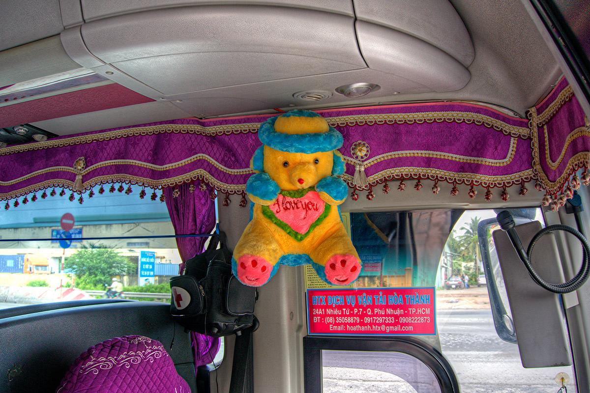 Tour Bus Teddy Bear