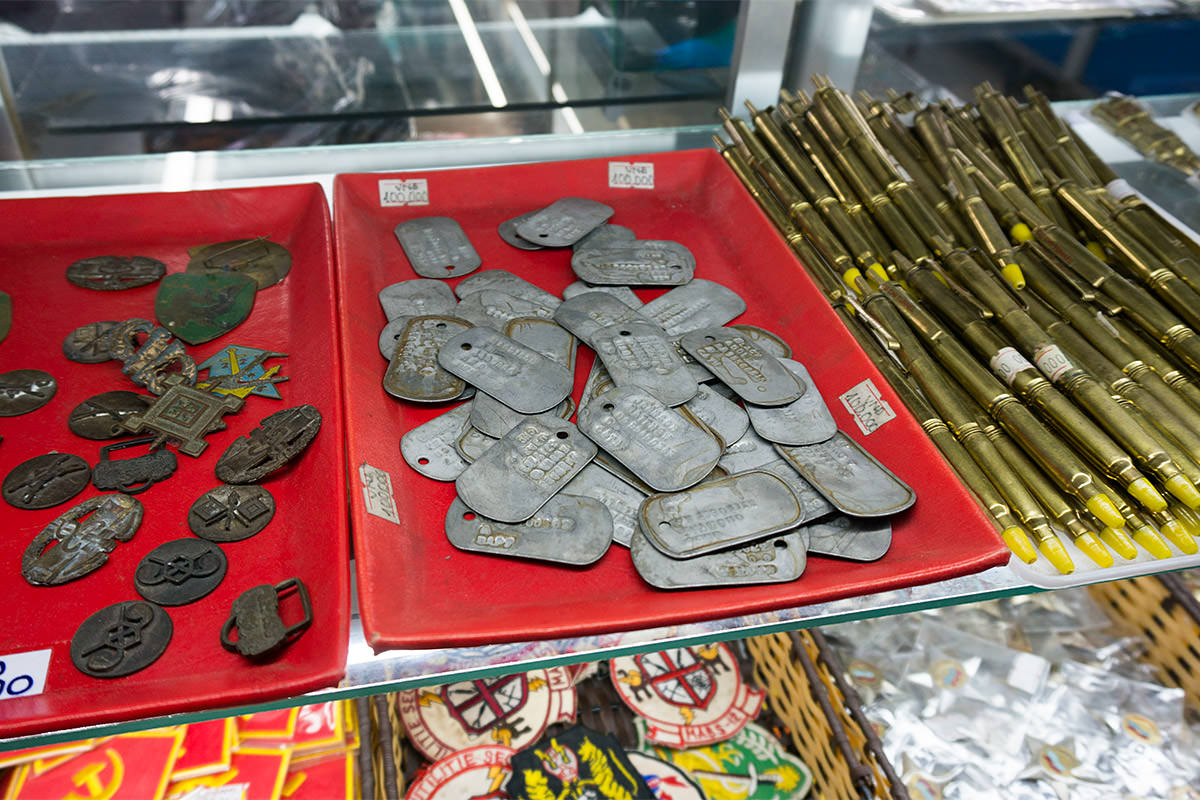 Remnants Museum American Dog Tag Souvenirs?