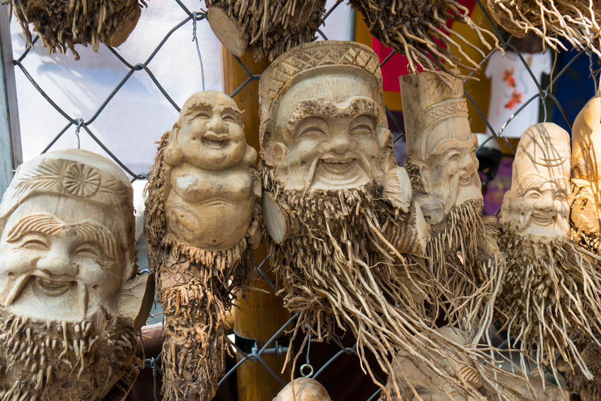 Hoi An Tree Carving