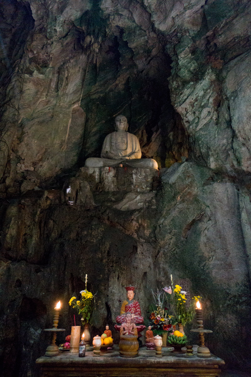 Marble Mountain Cave Buddha