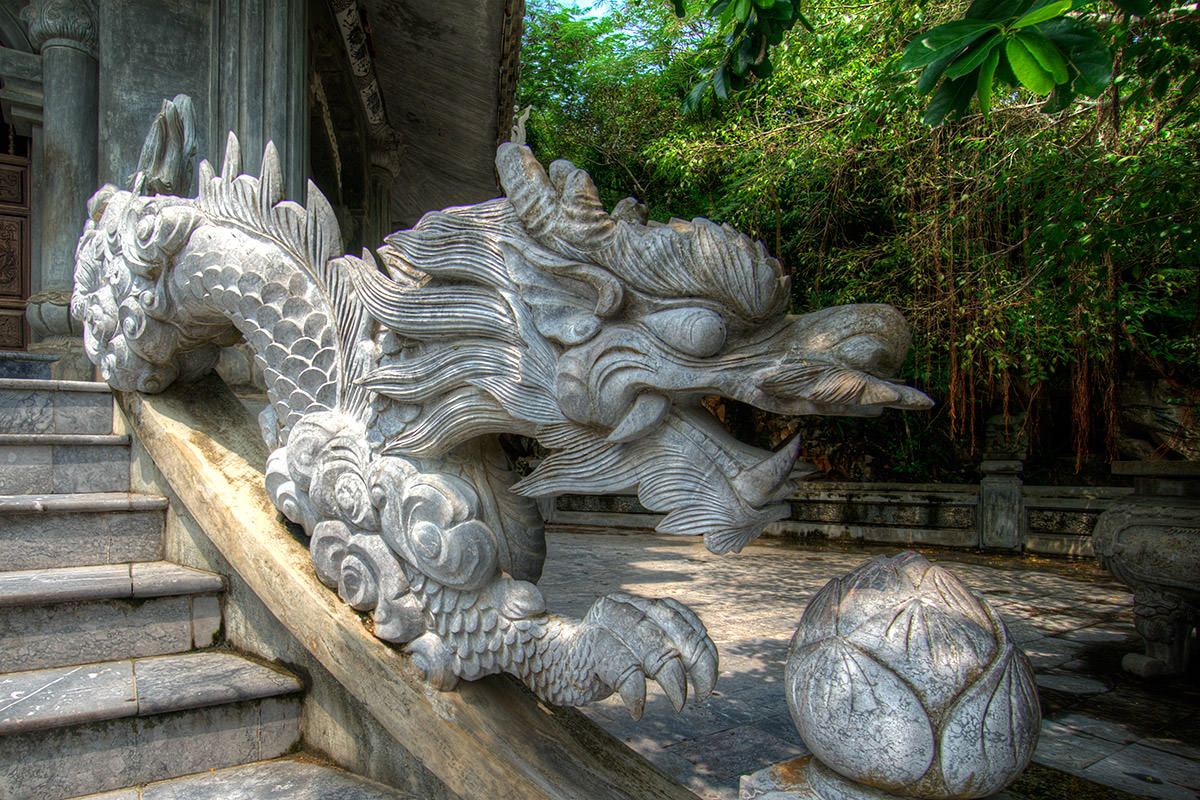 Marble Mountain Hoi An Dragon