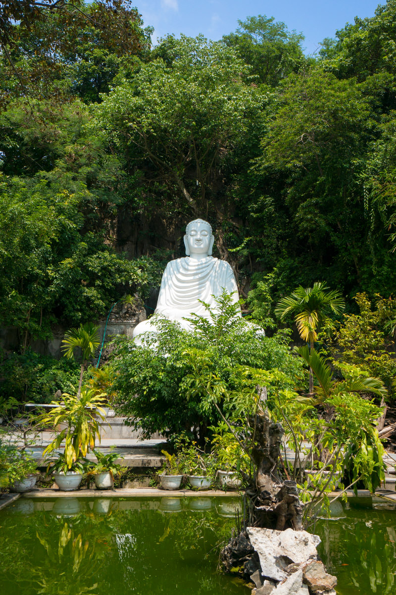 Marble Mountain White Buddha