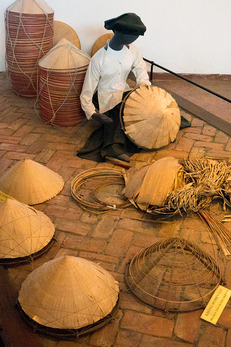 Conical Hat-Making!