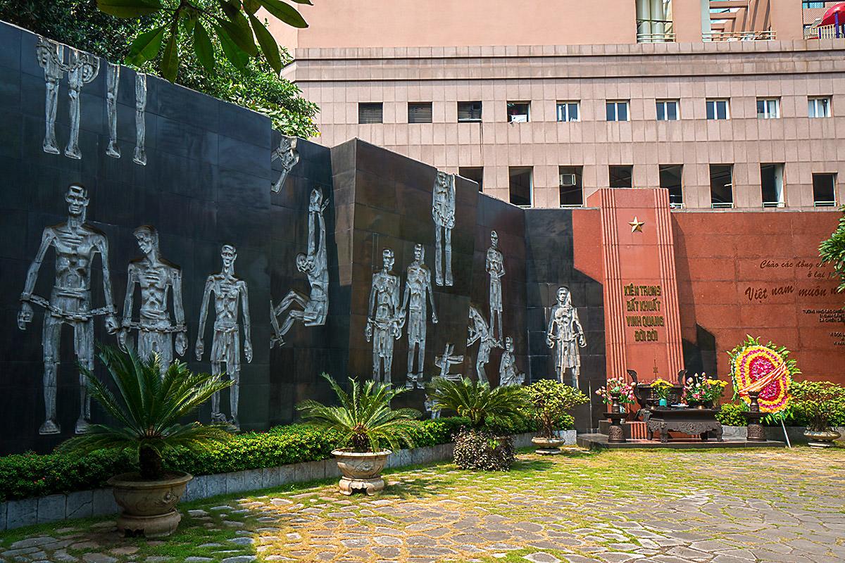 Hanoi Hilton Courtyard