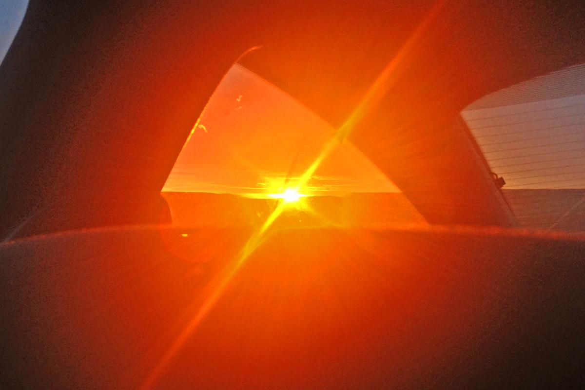 Spokane Basin Sunset