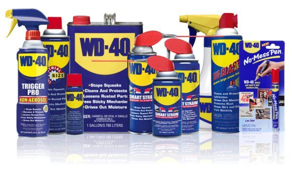 WD-40 Line-Up