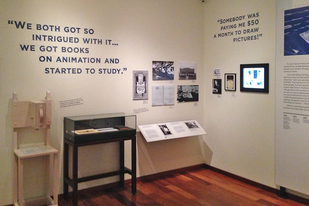 Walt Disney Family Museum Animator