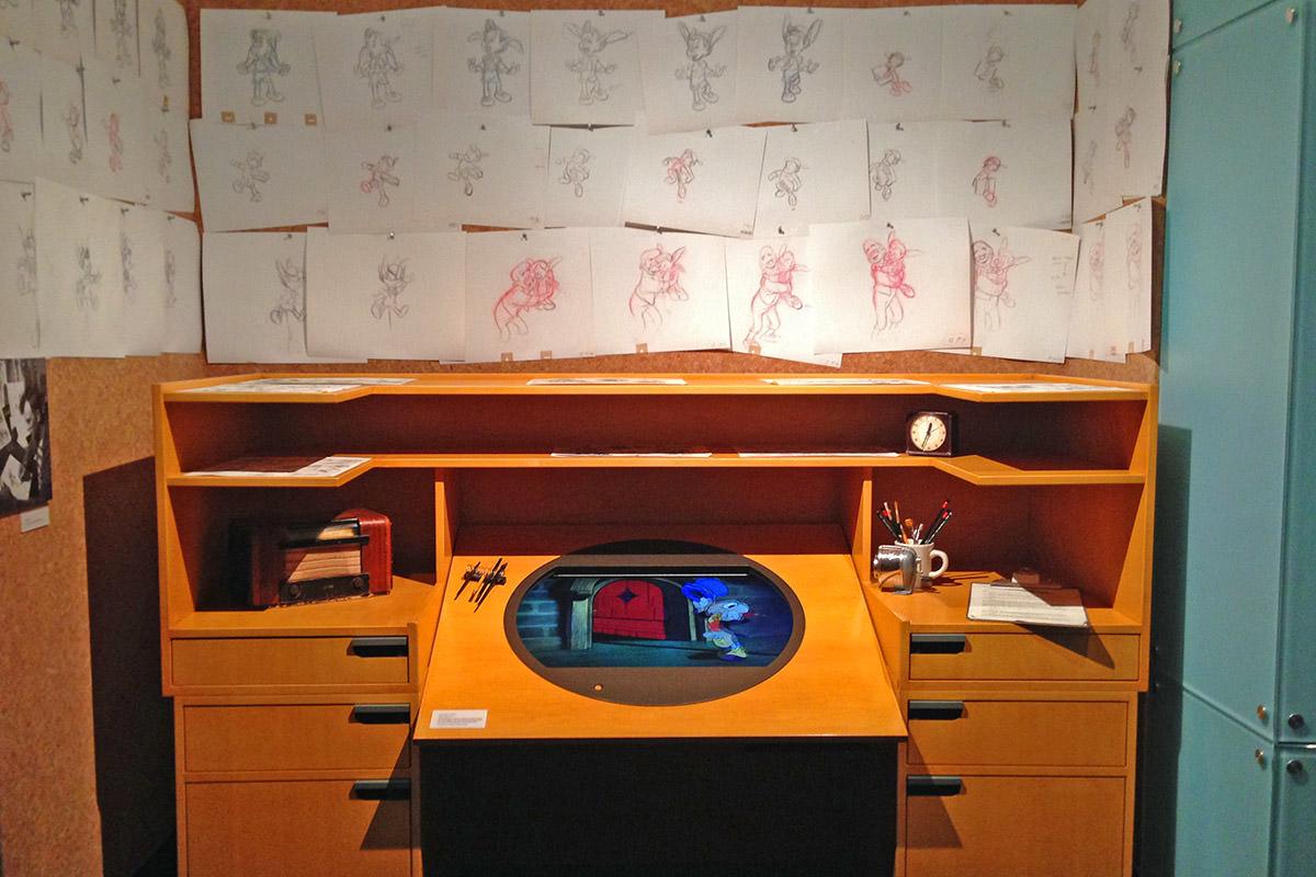 Walt Disney Family Museum Desk