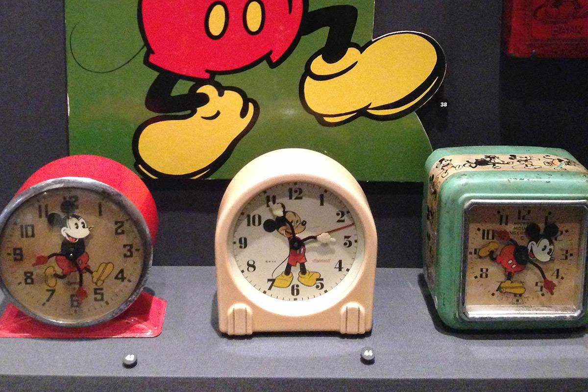 Walt Disney Family Museum Mickey Clocks