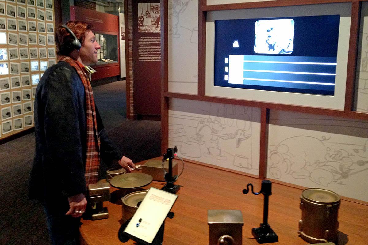 Walt Disney Family Museum Sound Station