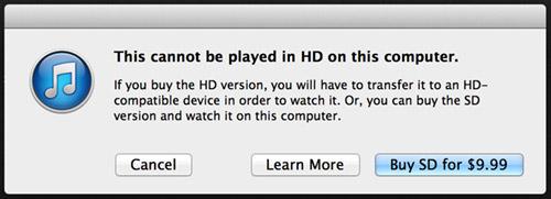 iTunes FAIL!