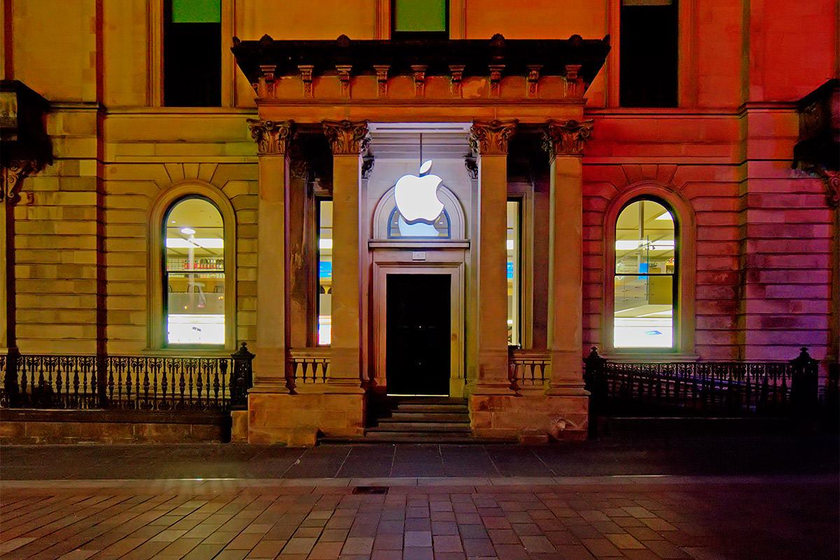Apple Store in Glasgow, Scotland