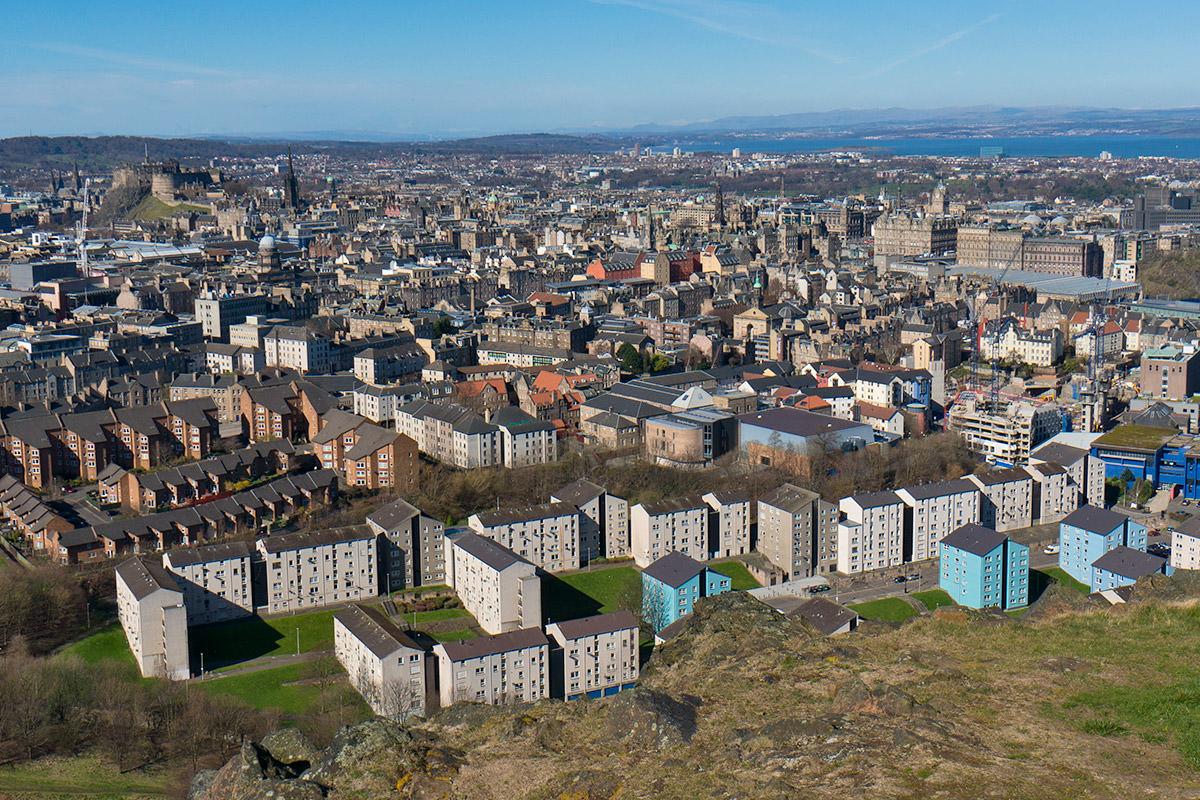 Edinburgh from Arthur's Seat