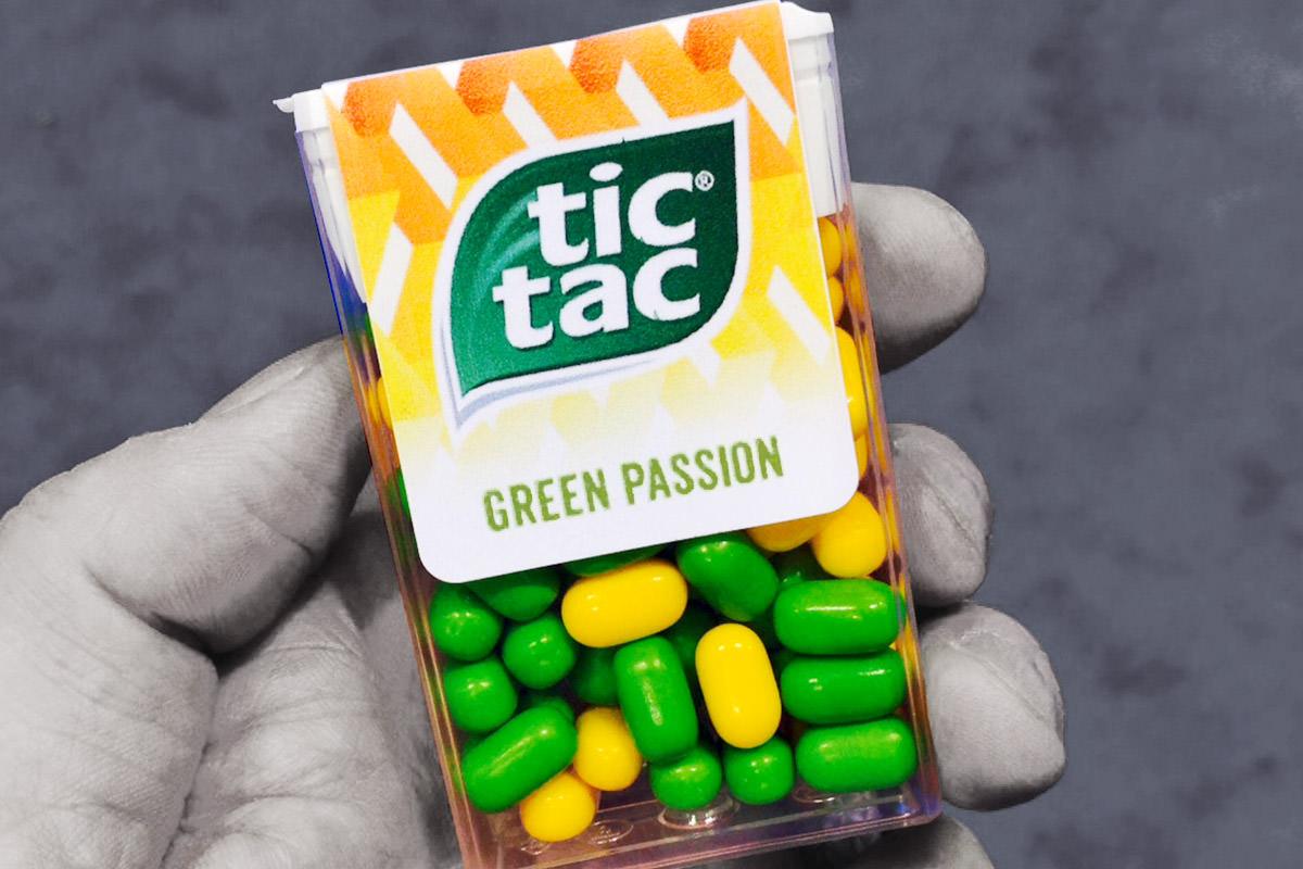 GREEN PASSION Tic Tacs