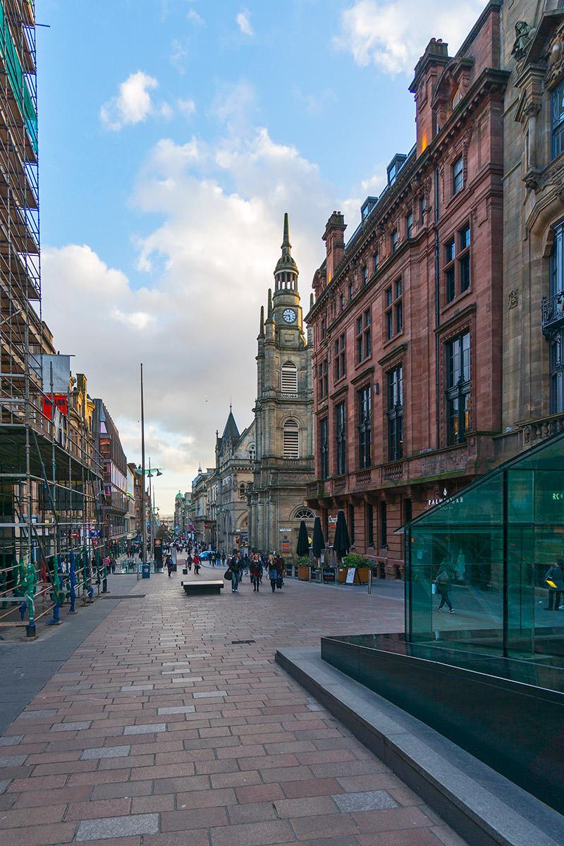 Hard Rock Cafe Glasgow on Buchanan Street