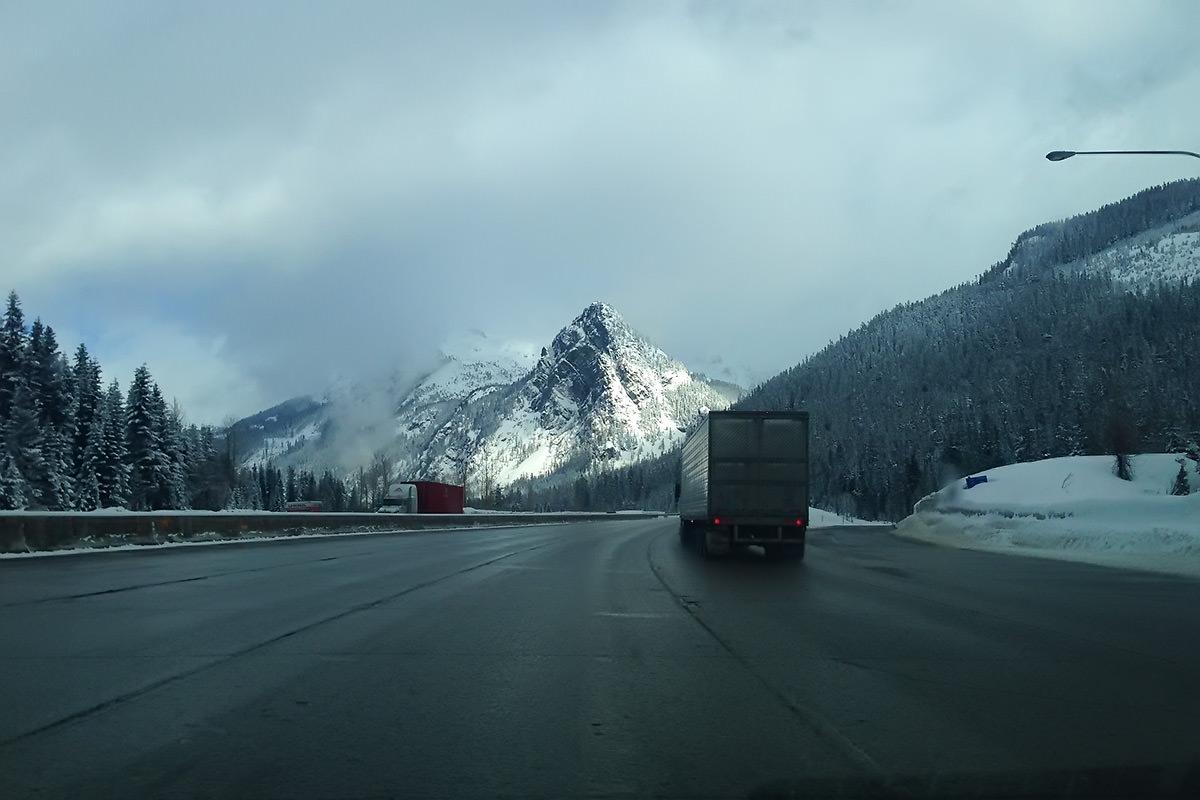 Pass Drive Glory Mountain