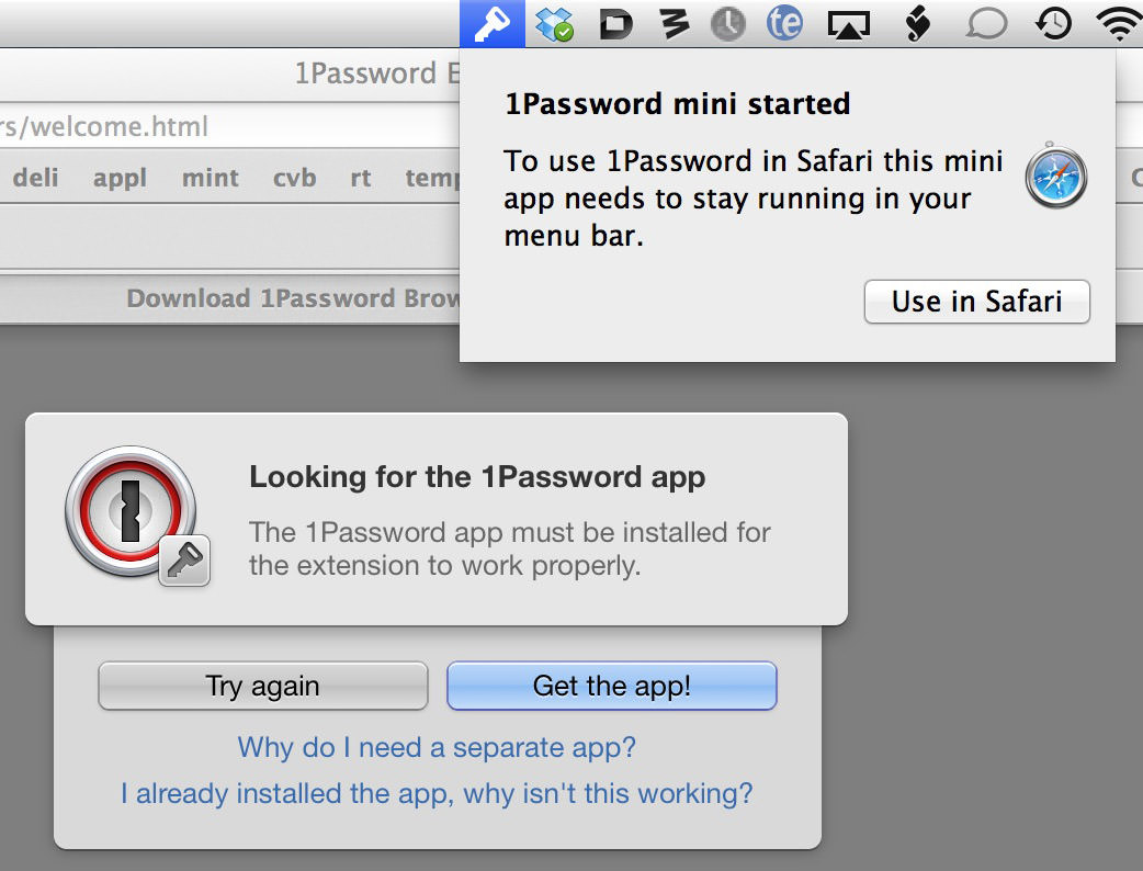1Password Assholery