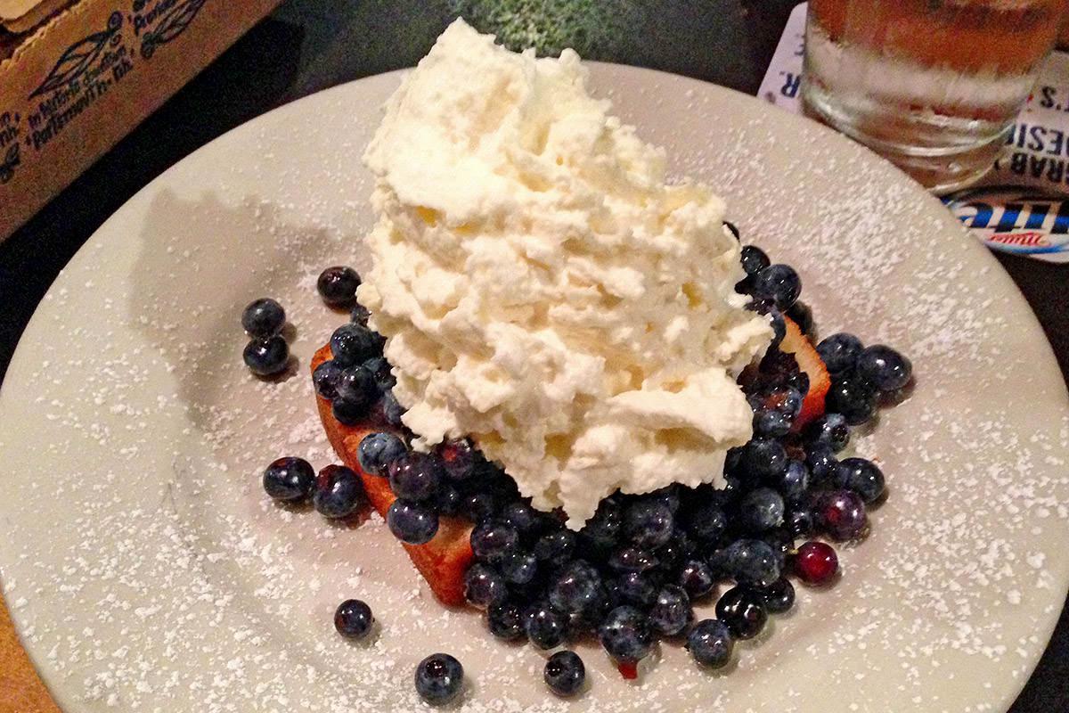 Blueberry Poundcake