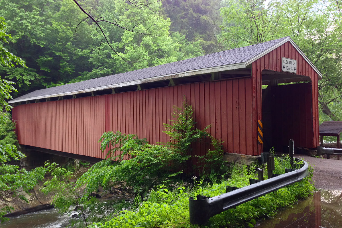 McConnell's Mill Covered Bridge