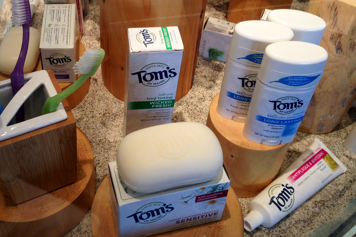 Tom's of Maine Product Display