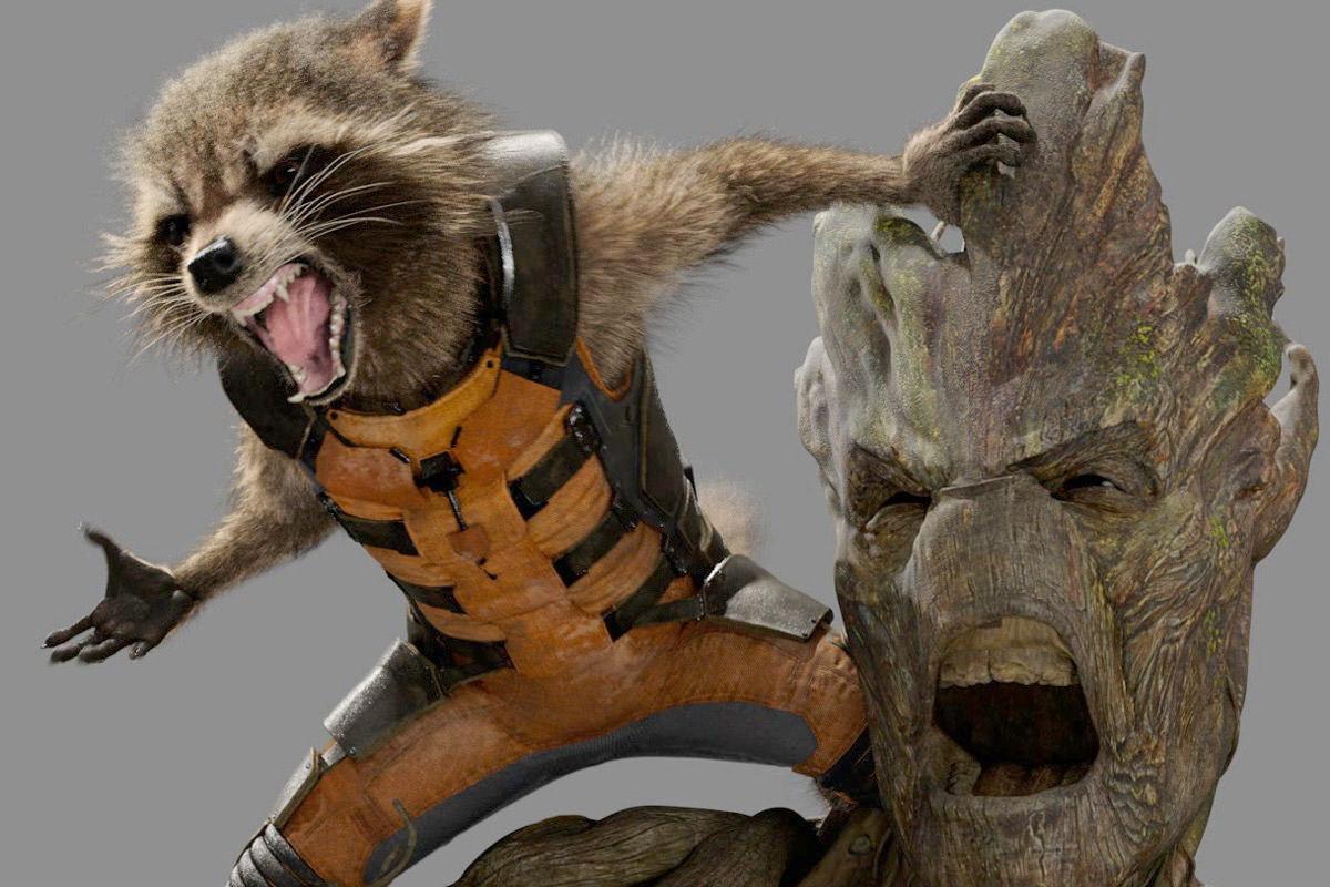 Guardians of the Galaxy Rocket & Groot