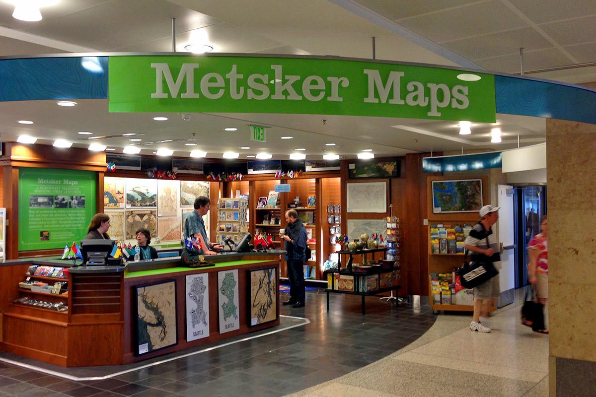 Metsker Maps SeaTac