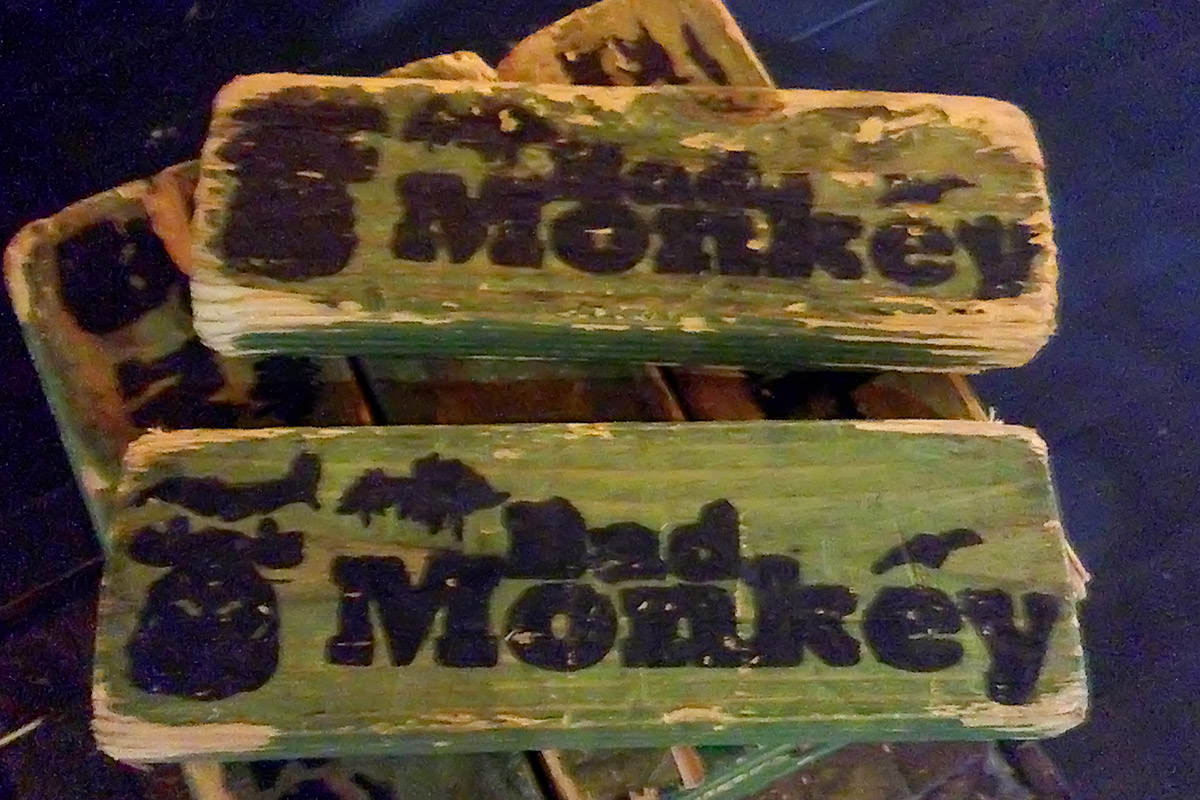 Bad Monkey Bar Jenga