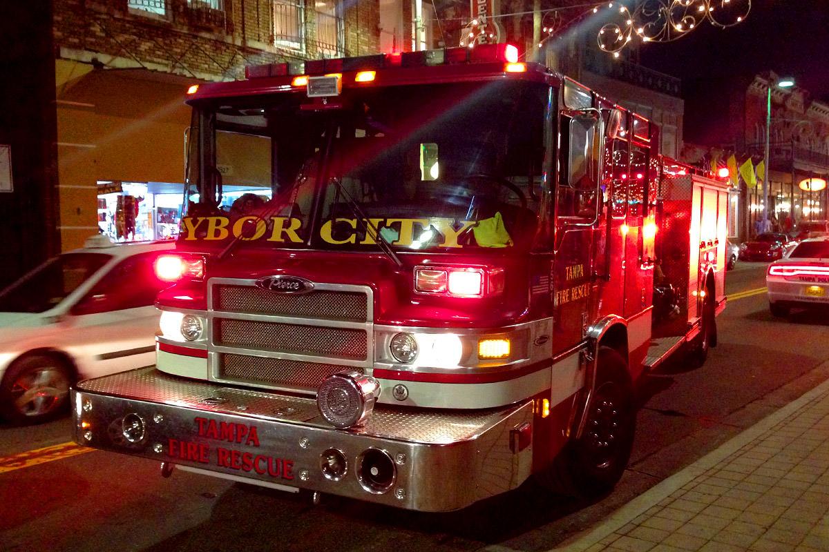 Ybor City Fire Truck
