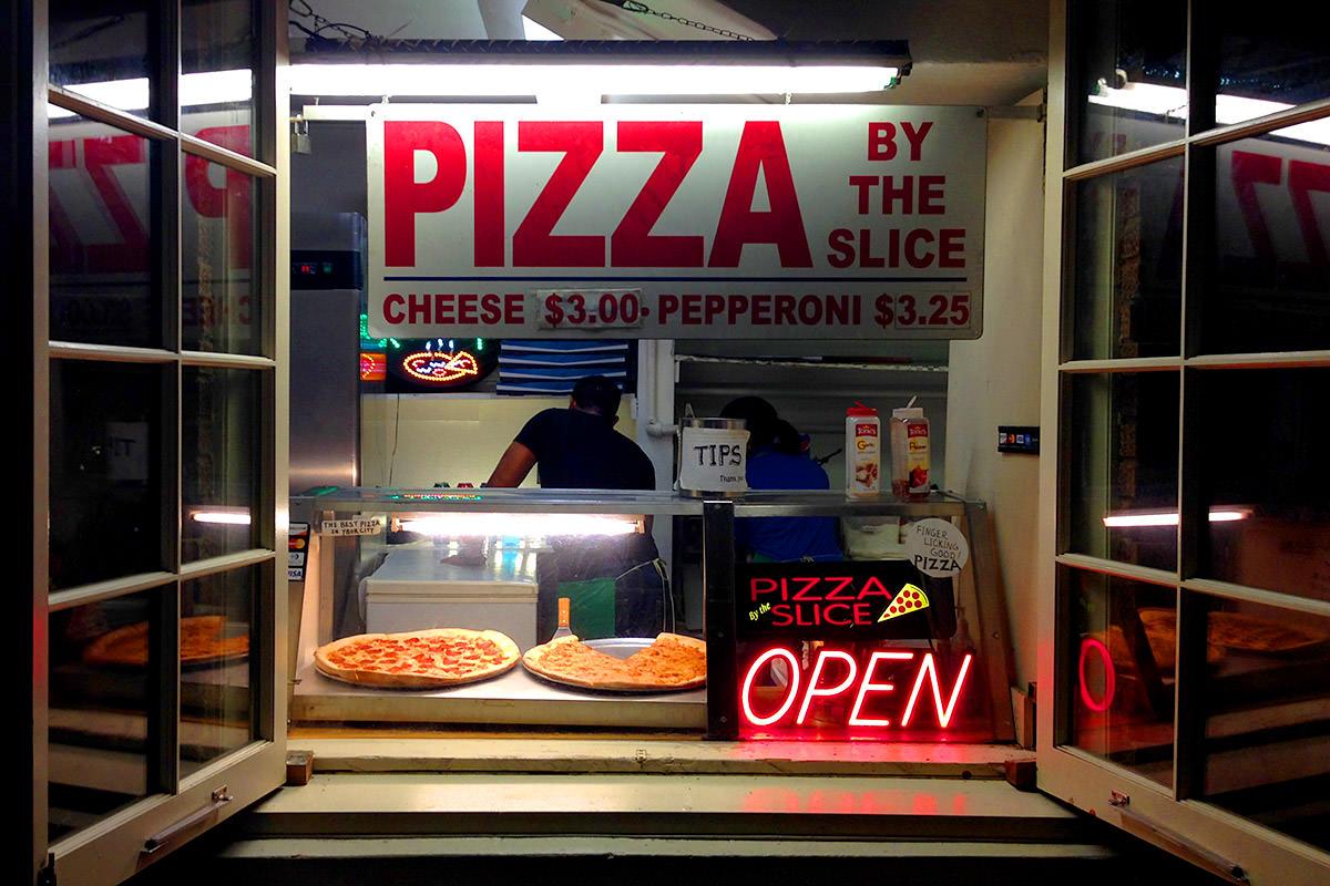 Ybor City Pizza Window