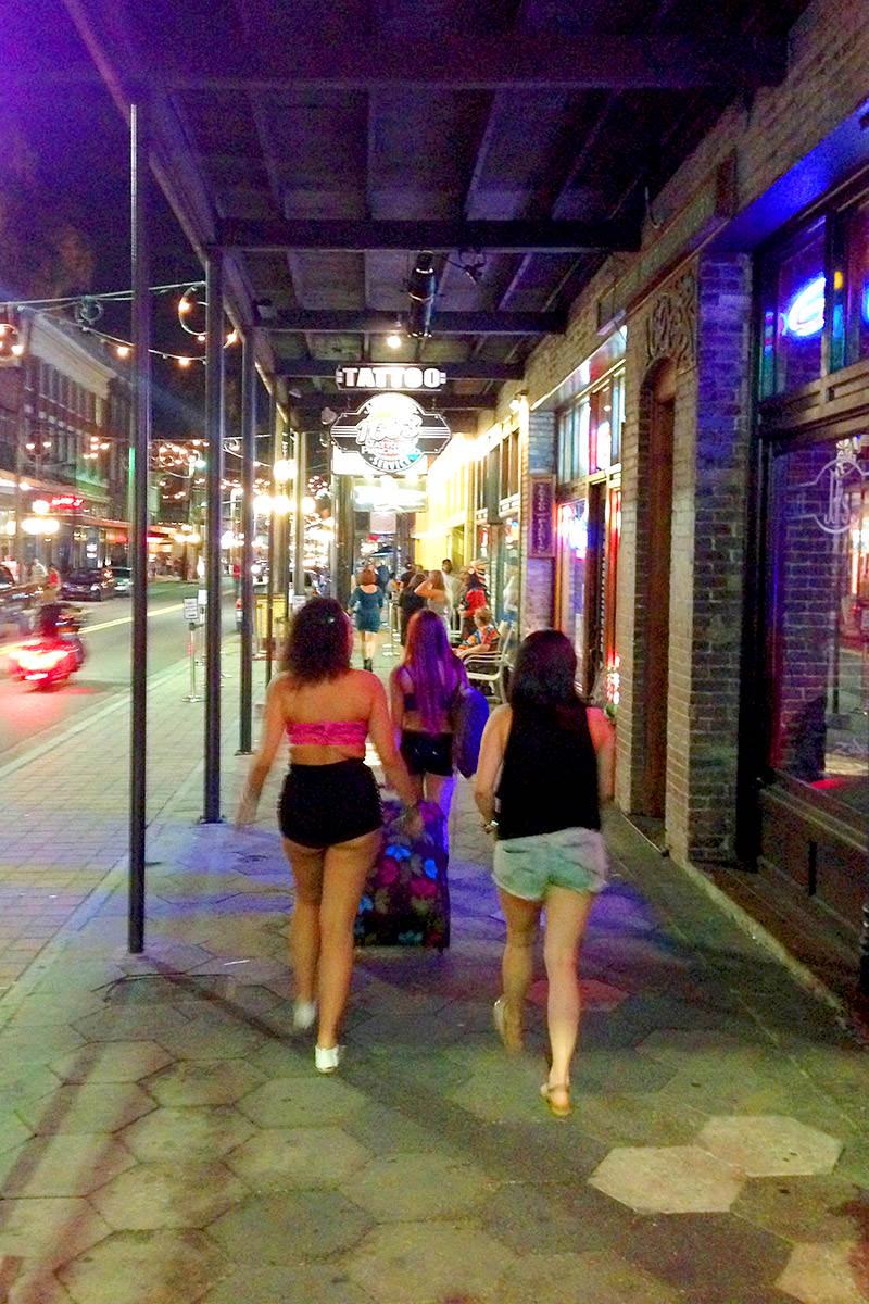 Ybor City Street Walking