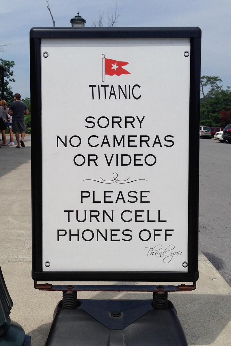 Titanic Museum Pigeon Forge