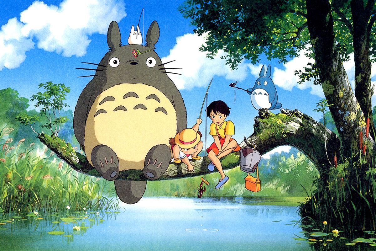 My Neighbor Totoro, copyright Studio Ghibli