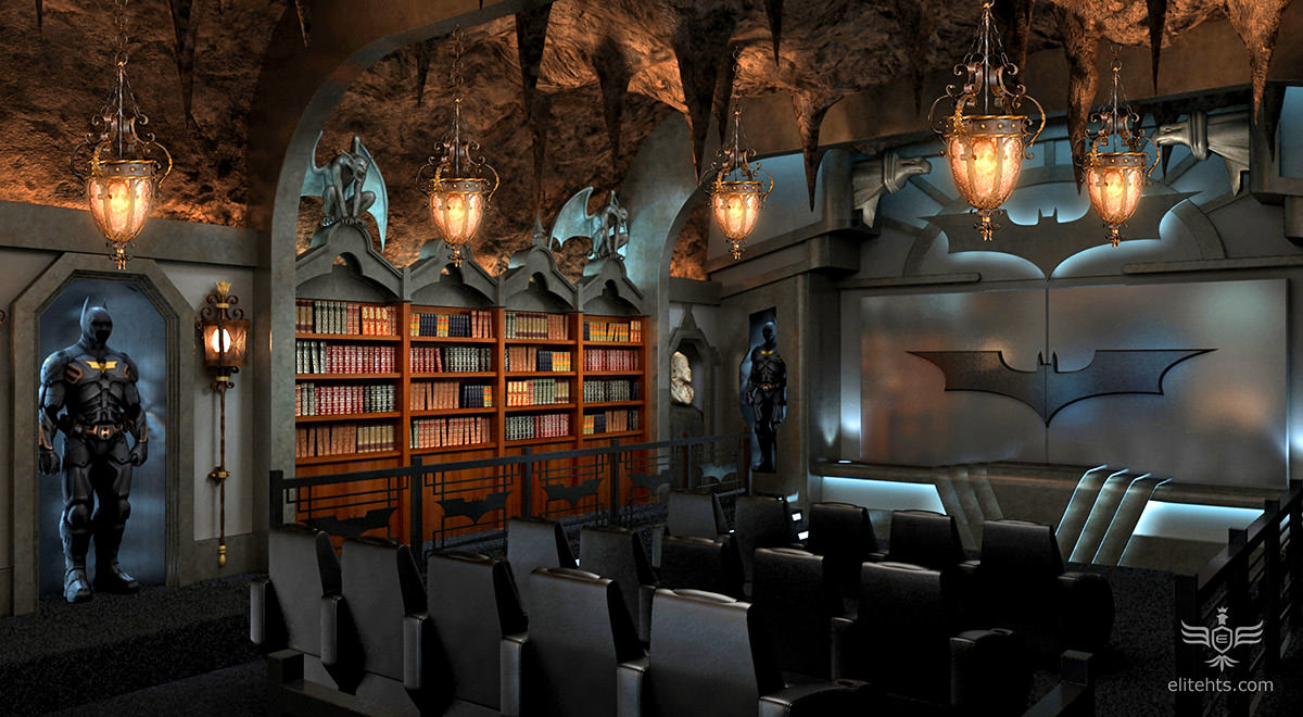 Ultimate Bat-Cave Theater!