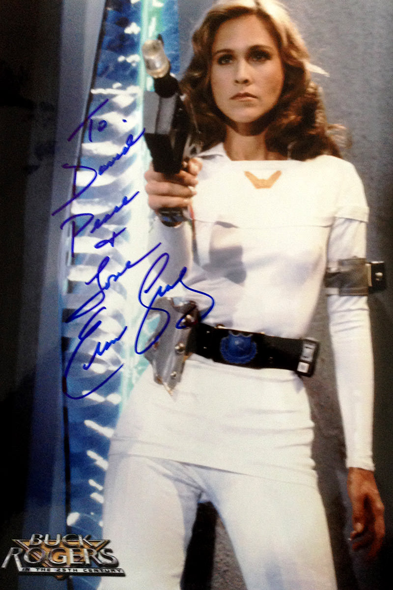 Erin Gray Autograph