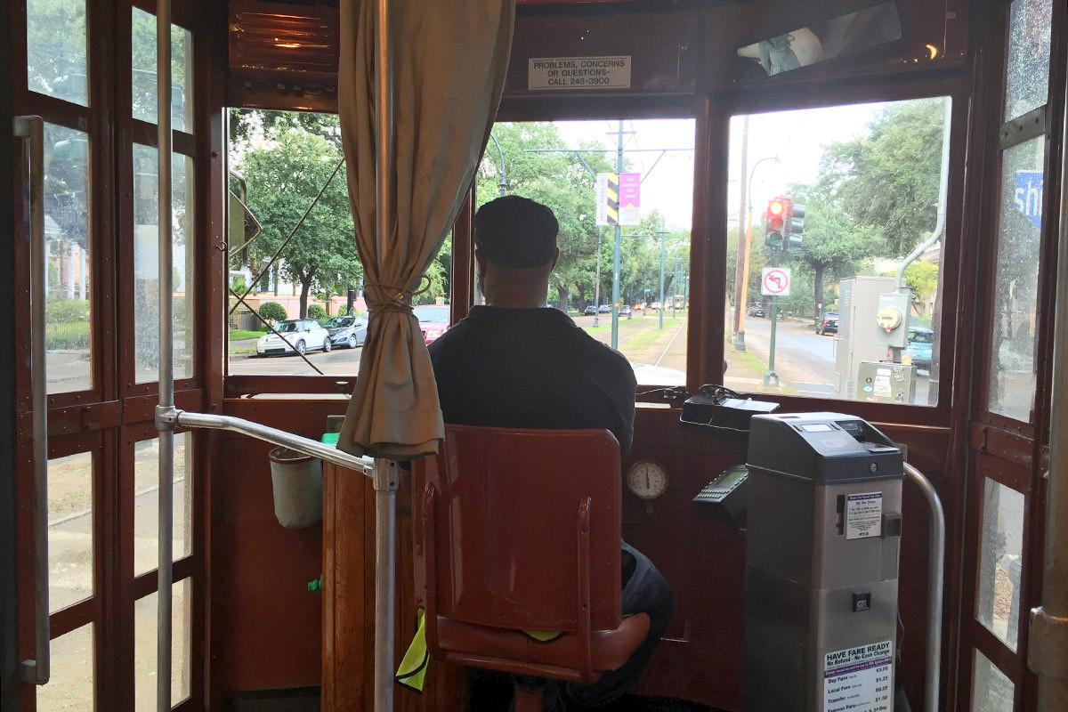 St. Charles St. Streetcar.