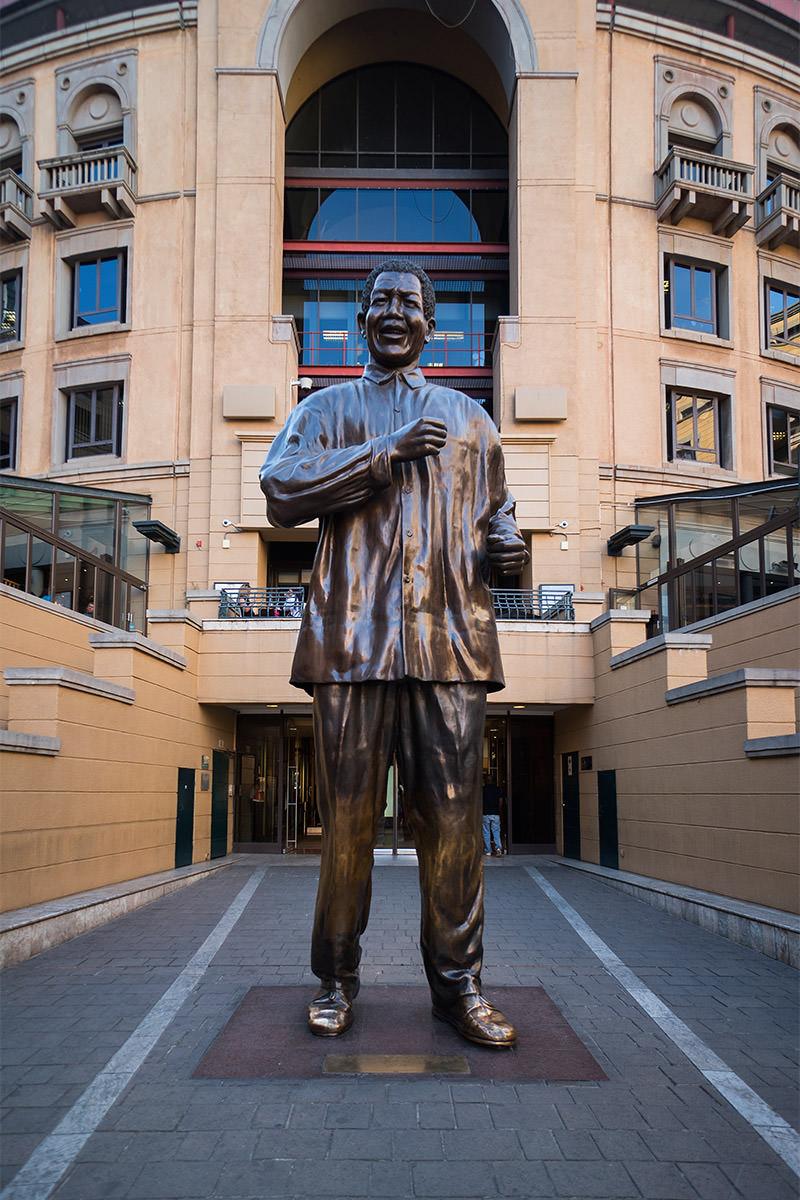 Nelson Mandella Square in Johannesburg