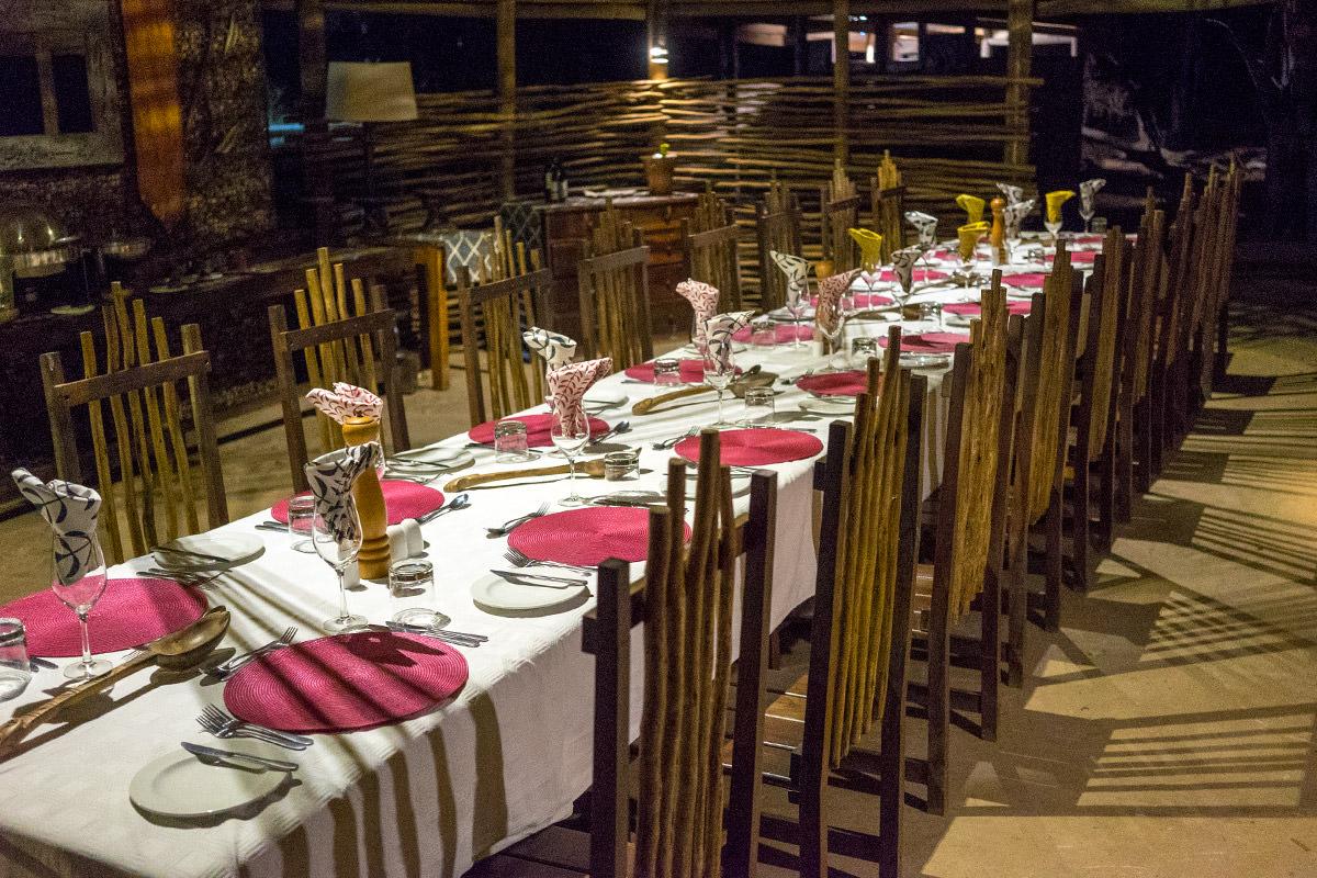 Ruckomechi Dining Room