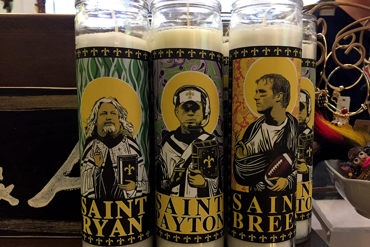 Light a Candle for St. Brees!