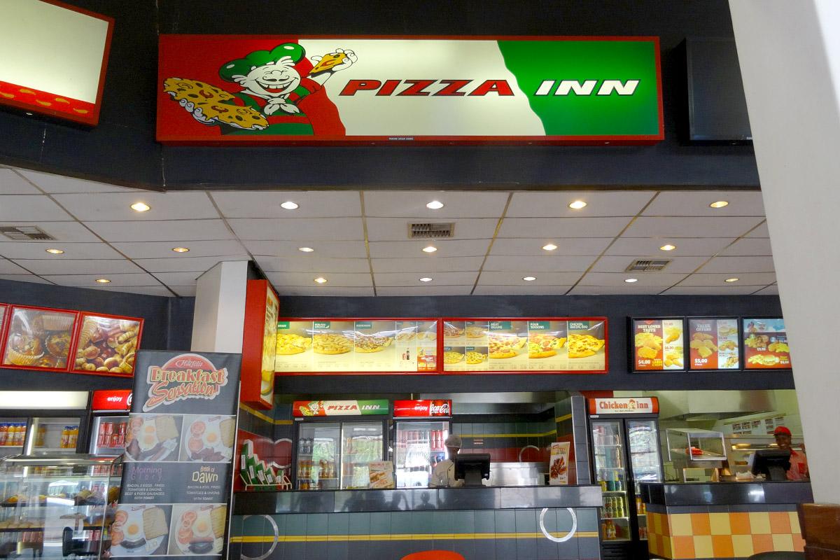 Pizza Inn at Victoria Falls