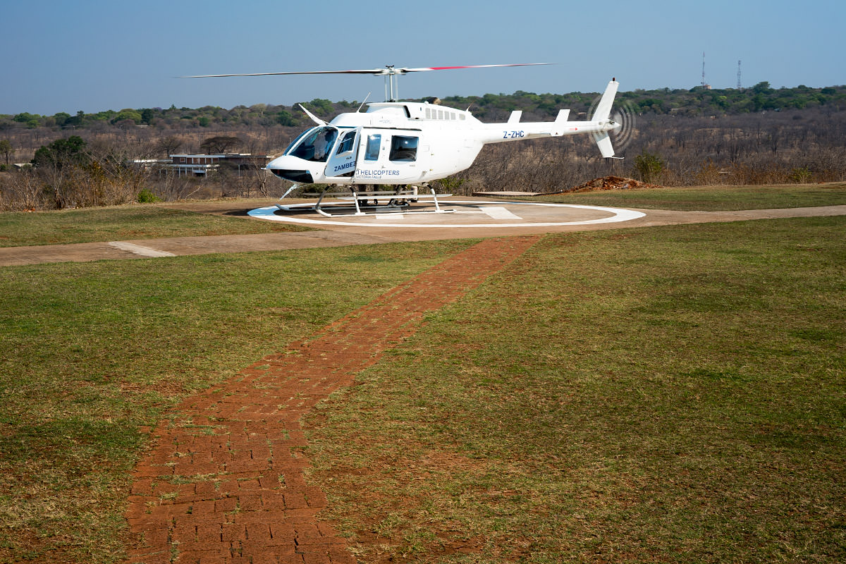 Helicopter Tour at Victoria Falls