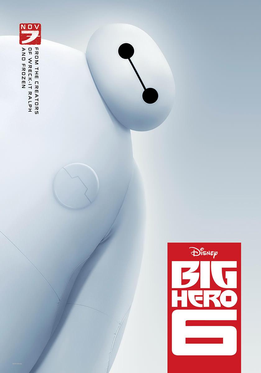 Big Hero Six Poster