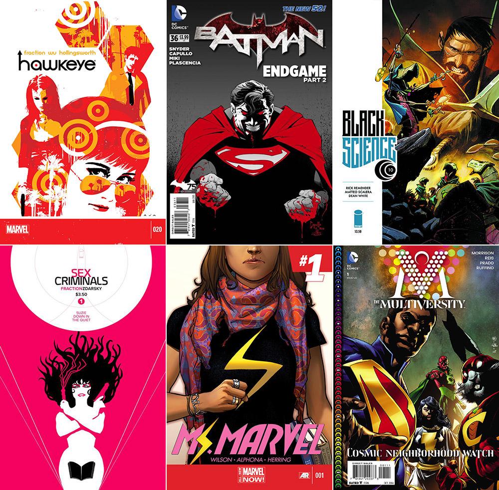 Best Comics 2014 Part 1