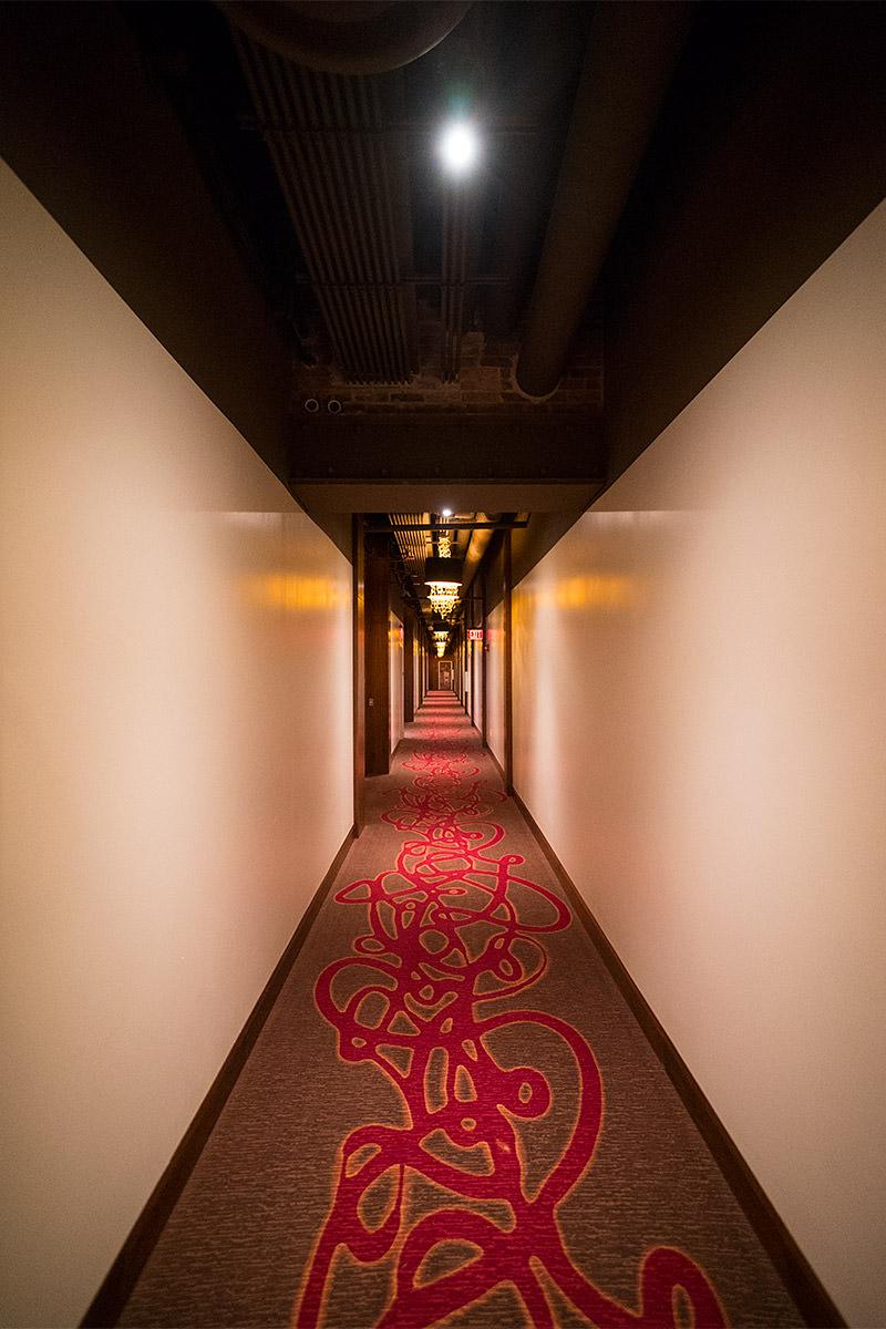 Hard Rock Hotel & Casino Sioux City Hallway