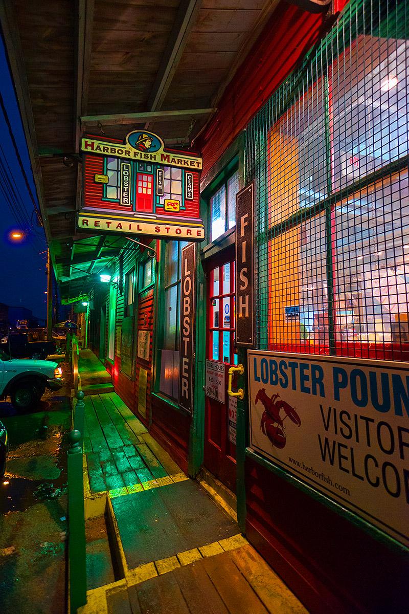 Portland's Harbor Fish Market.