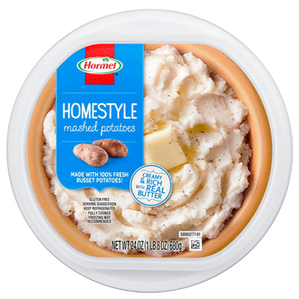 Hormel Mashed Potatoes Tub