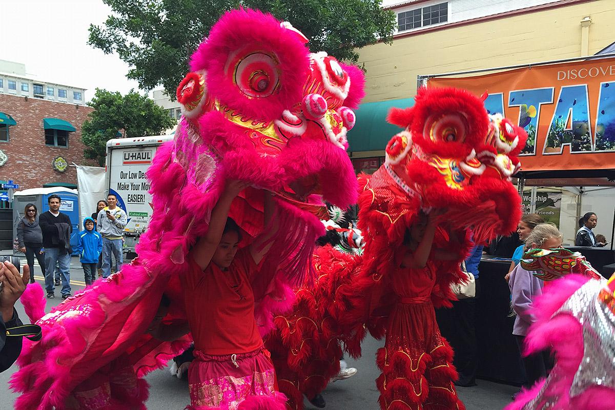 San Diego Gaslamp Quarter Chinese Lunar New Year